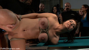 Roped busty slave girl gets all her hole - XXX Dessert - Picture 14