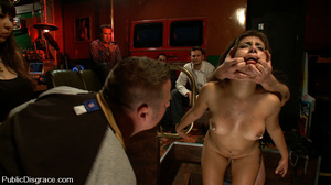 Captured perfect body slave babe gets as - XXX Dessert - Picture 5