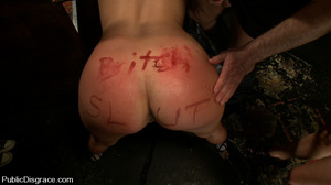 Captured perfect body slave babe gets as - XXX Dessert - Picture 12