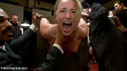 blonde enslaved chick enthusiastic