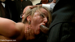 Blonde enslaved chick is enthusiastic ab - XXX Dessert - Picture 5