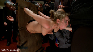 Blonde enslaved chick is enthusiastic ab - XXX Dessert - Picture 6