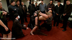 Blonde enslaved chick is enthusiastic ab - XXX Dessert - Picture 7