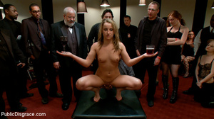 Blonde enslaved chick is enthusiastic ab - XXX Dessert - Picture 9