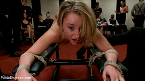 Blonde enslaved chick is enthusiastic ab - XXX Dessert - Picture 10