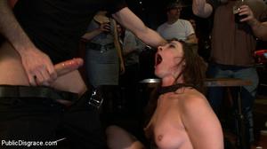Enslaved brunette hottie gets all her ho - XXX Dessert - Picture 6