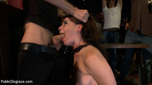 Enslaved brunette hottie gets all her ho - XXX Dessert - Picture 7