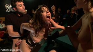 Enslaved brunette hottie gets all her ho - XXX Dessert - Picture 11