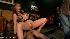 Enslaved brunette hottie gets all her ho - XXX Dessert - Picture 15