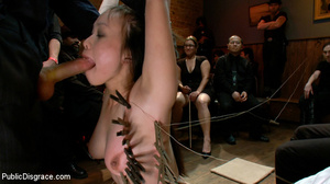 Roped and humiliated asian slave girl ge - XXX Dessert - Picture 10