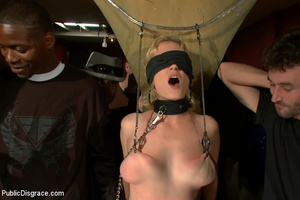 Blindfolded captured nymph gets fucked,  - XXX Dessert - Picture 2
