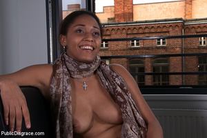 Lusty big boobed asked to tie her up and - XXX Dessert - Picture 1