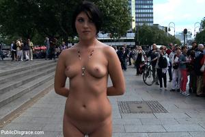 Bound and naked european cutie gets manh - XXX Dessert - Picture 1