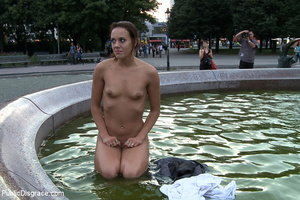 Naked bound slave babe humiliated and ge - XXX Dessert - Picture 13