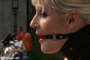 Captured blonde milf treated like a piec - XXX Dessert - Picture 2