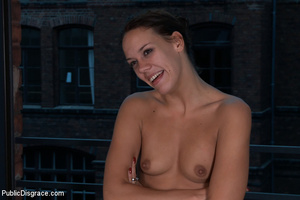 Naked bound slave babe humiliated and ge - XXX Dessert - Picture 15