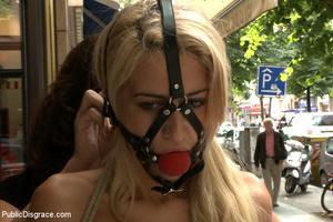 Super cute blonde slave beauty helplessl - XXX Dessert - Picture 2