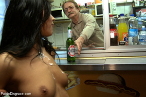 European enslaved sexy nymph is under in - XXX Dessert - Picture 12