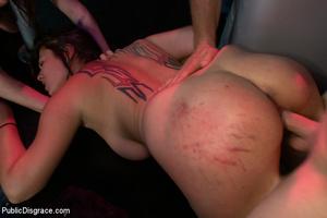 Helpless in bondage brunette slave gets  - XXX Dessert - Picture 9