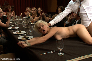 Short haired blonde ensalved girl forced - XXX Dessert - Picture 6