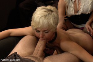 Short haired blonde ensalved girl forced - XXX Dessert - Picture 13