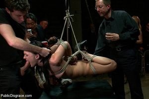 Bound and boobs humiliated sexy slave ch - XXX Dessert - Picture 14