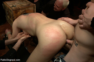 Adorable collared enslaved chick thoroug - XXX Dessert - Picture 7