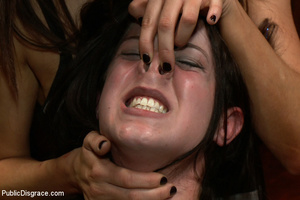 Adorable collared enslaved chick thoroug - XXX Dessert - Picture 9