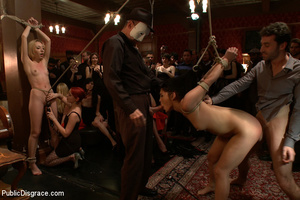 Tied up and humiliated slave babes are j - XXX Dessert - Picture 4