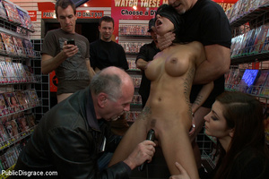 Big tittied enslaved nymph ass fucked in - XXX Dessert - Picture 4
