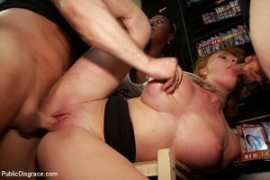 Blonde big boobed roped girl fucked thor - XXX Dessert - Picture 5