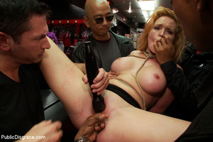 Blonde big boobed roped girl fucked thor - XXX Dessert - Picture 7