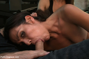 Perky tits brunette slave girl plowed an - XXX Dessert - Picture 4