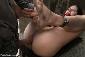 Restrained and gagballed captured girl f - XXX Dessert - Picture 11