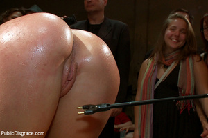Blindfolded captured chick gets dp fucke - XXX Dessert - Picture 13