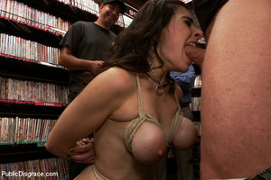 Awesome big boobed captured girl gets he - XXX Dessert - Picture 5