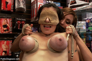 Awesome big boobed captured girl gets he - XXX Dessert - Picture 9