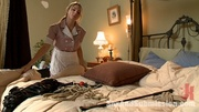 enslaved busty blonde maid