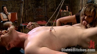 submissive bound guys tortured