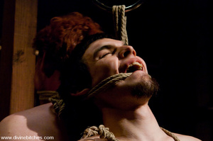 Two naked guys get hanged and get their  - XXX Dessert - Picture 7