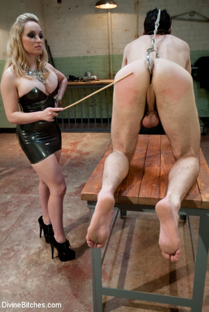 Crazy femdom pics of blonde babe using a - XXX Dessert - Picture 12