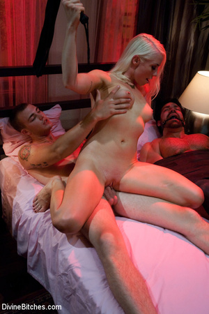 Nasty femdom pics of tied up and humilia - XXX Dessert - Picture 8