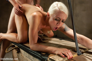 Nasty femdom pics of tied up and humilia - XXX Dessert - Picture 10