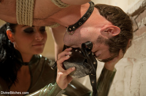 Dick abused roped slave guy gets dominat - XXX Dessert - Picture 3