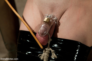 Dick abused roped slave guy gets dominat - XXX Dessert - Picture 9