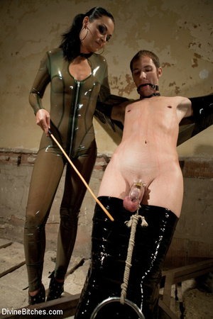 Dick abused roped slave guy gets dominat - XXX Dessert - Picture 15