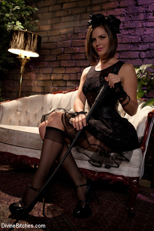 Female domination pics of brunette babe  - XXX Dessert - Picture 2