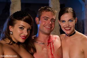 Three sexy mistress babes torturing thei - XXX Dessert - Picture 9