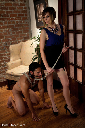Two cock hungry mistress babes using str - XXX Dessert - Picture 15
