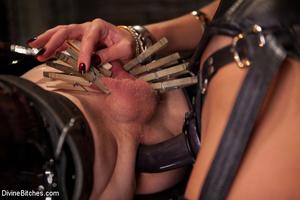 Kinky femdom pics of crazy mistress forc - XXX Dessert - Picture 7